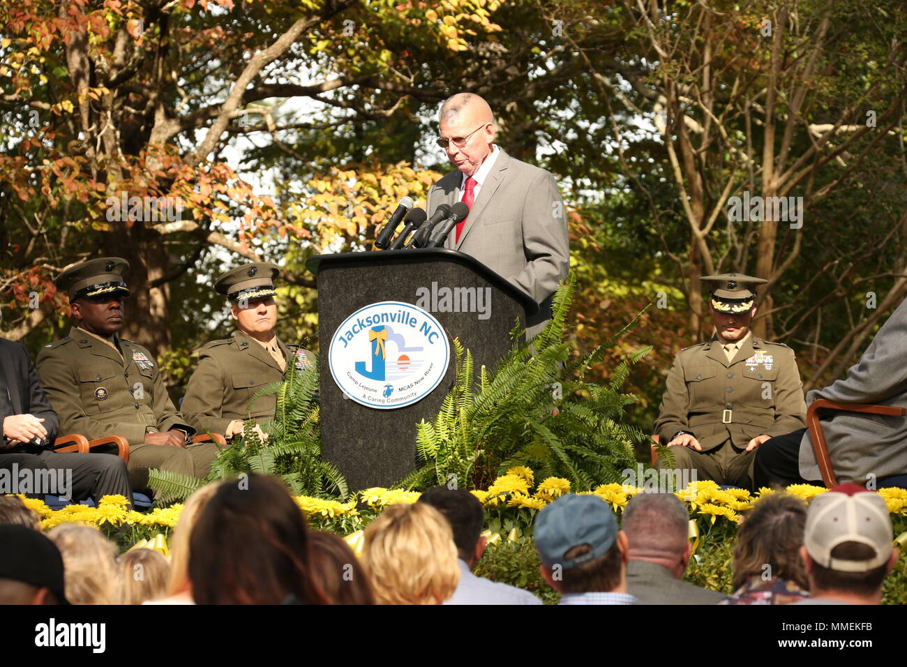 Retired U.S. Navy Senior Chief Hospital Corpsman Darrell Gibson ...