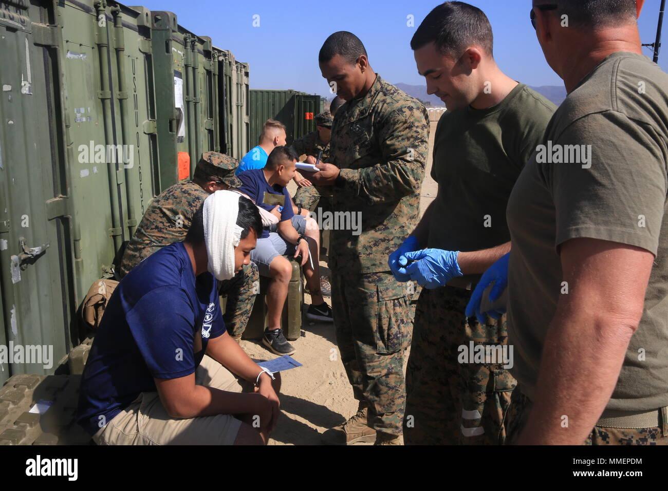 Medical evacuation of victims