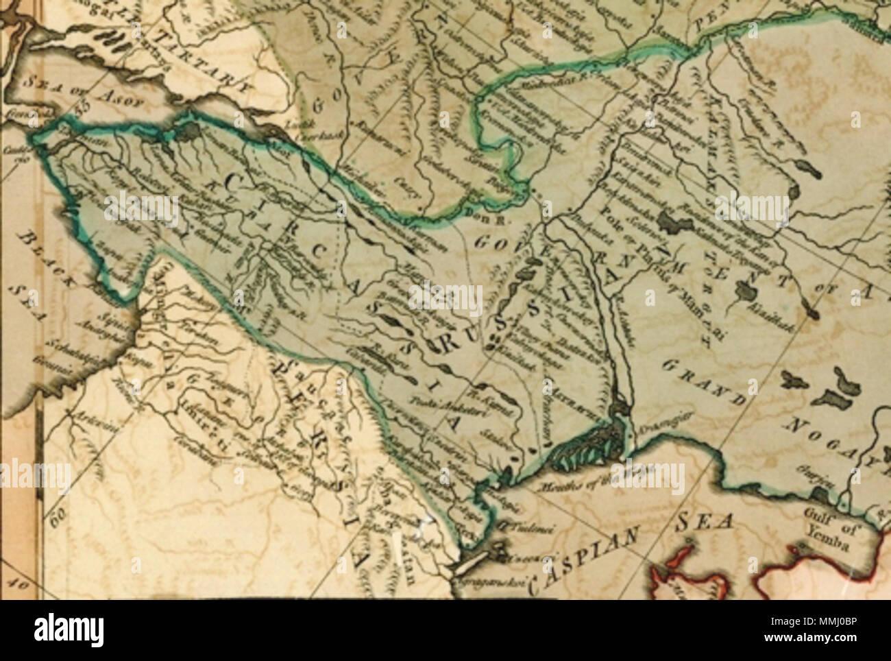 English Carrington Bowles Bowlesu0027s New One Sheet Map