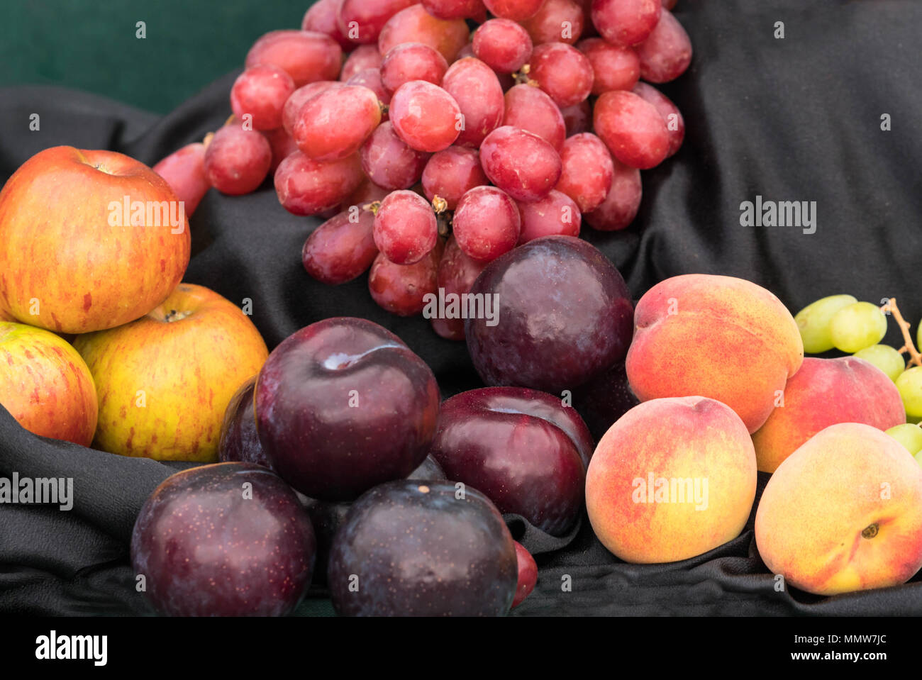 Fruit arrangment Malvern Spring Festival May 2018. Worcestershire UK. Stock Photo
