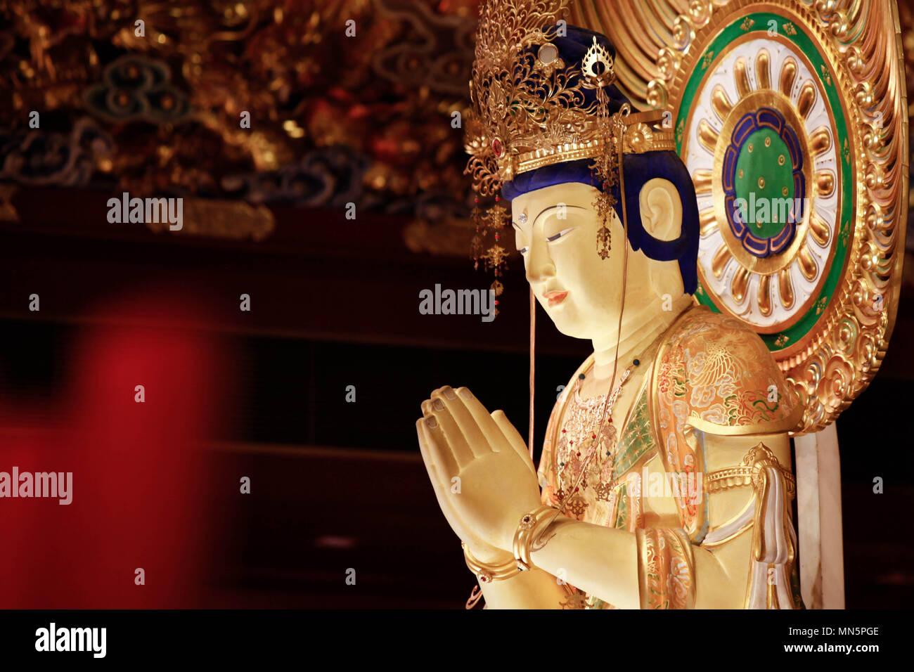 Buddha from Singapore - Stock Image