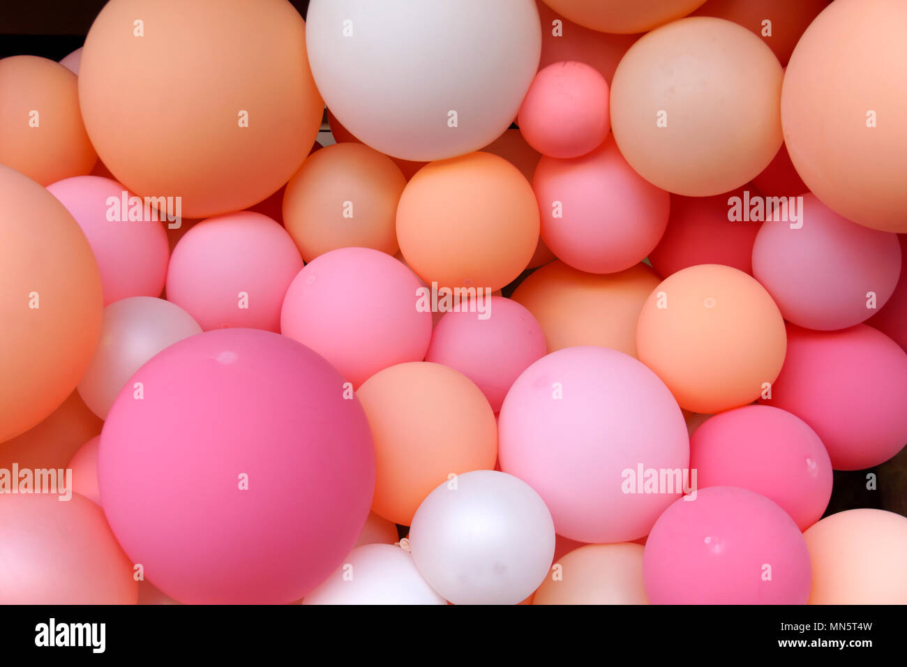 close-up-of-colorful-spherical-balloons-
