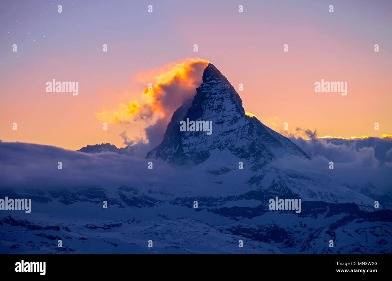 matterhorn-on-fire-MN8WG0.jpg