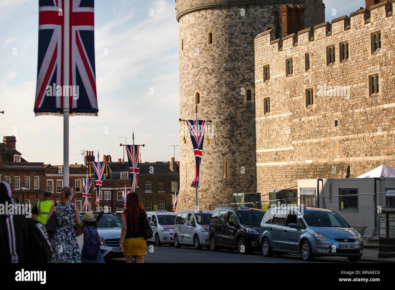 Windsor Uk 15th May 2018 Windsor Castle Royal Wedding