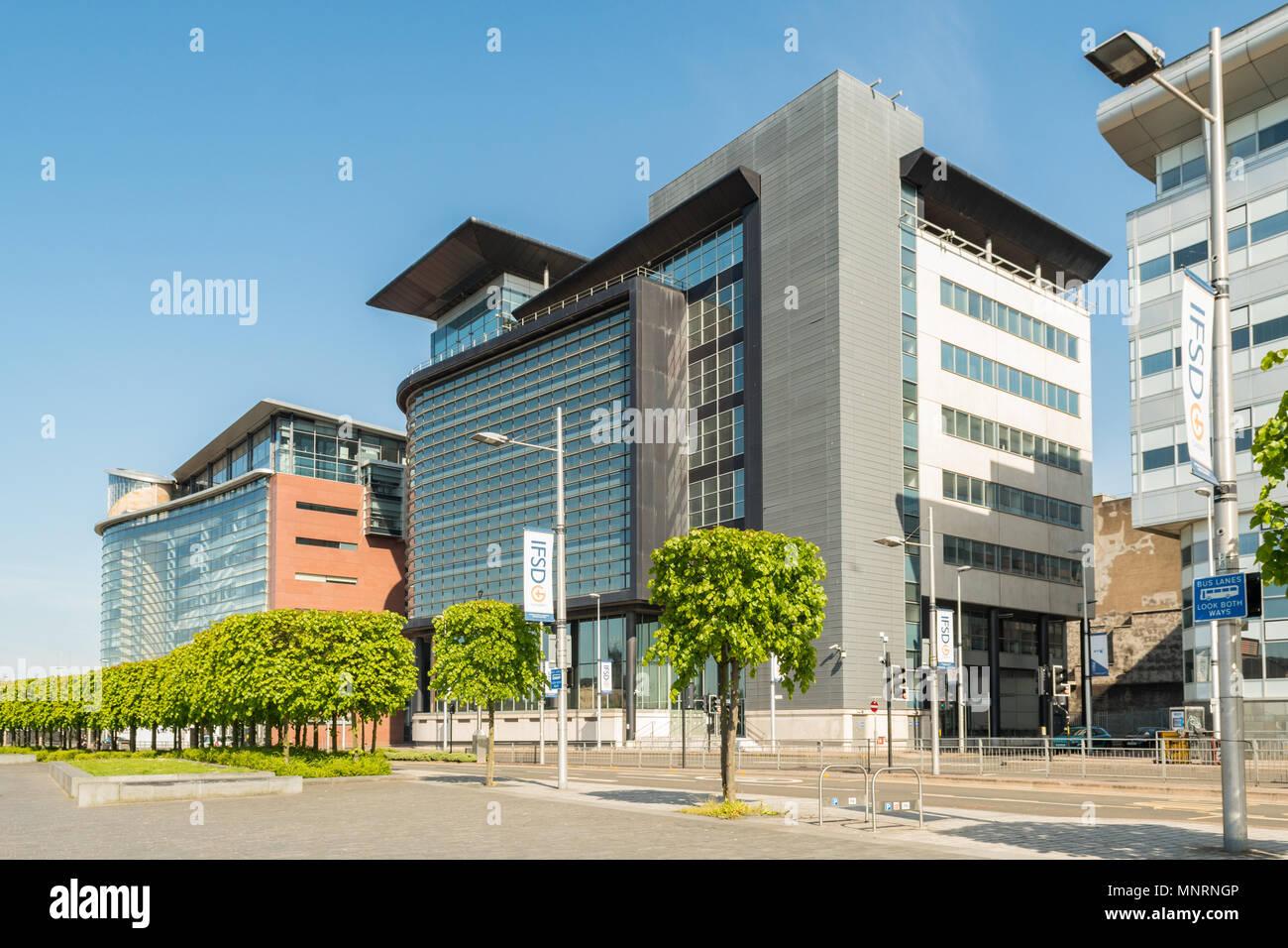 Glasgow International Financial Services District IFSD, 150 and 200 Broomielaw, Glasgow, Scotland, UK - Stock Image