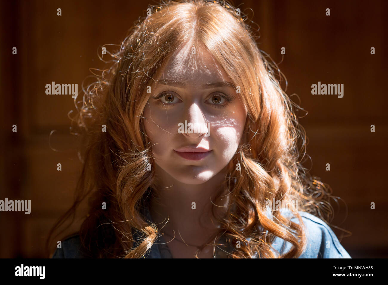 redhead hair london