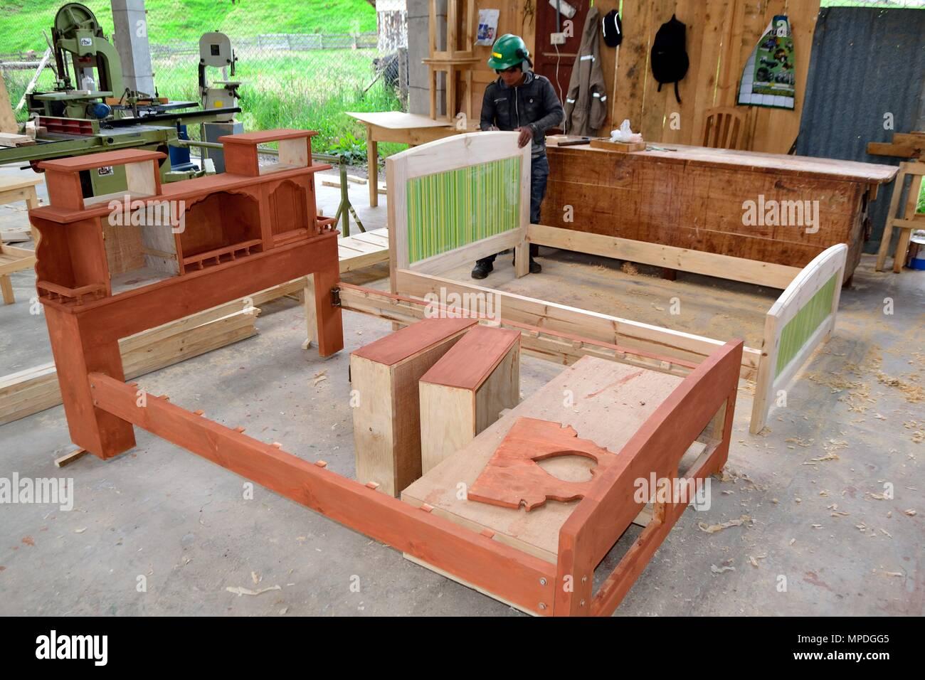 Manufacture Of Furniture   Sawmill In GRANJA PORCON   Evangelical  Cooperative . Department Of Cajamarca .PERU