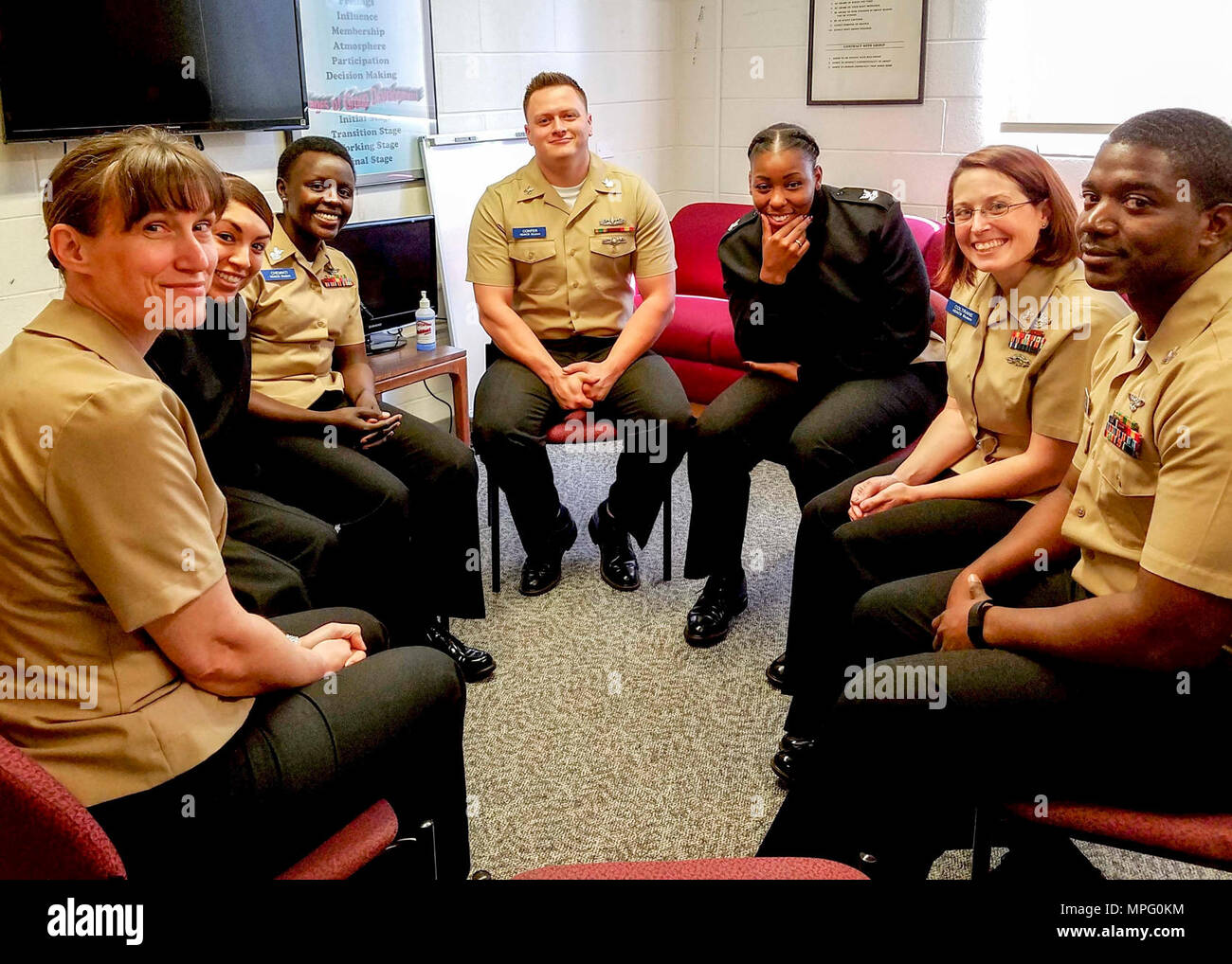 Diego April 10 2017 Sailors Attending Navy Drug And Alcohol