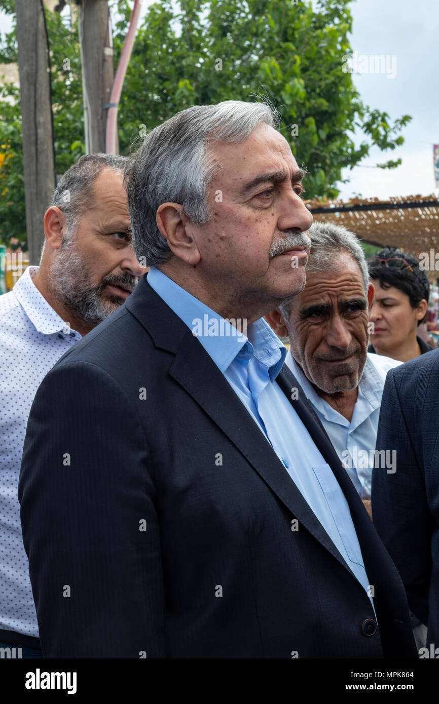 Mustafa Akinci - The President of the Turkish Republic of Northern Cyprus. - Stock Image