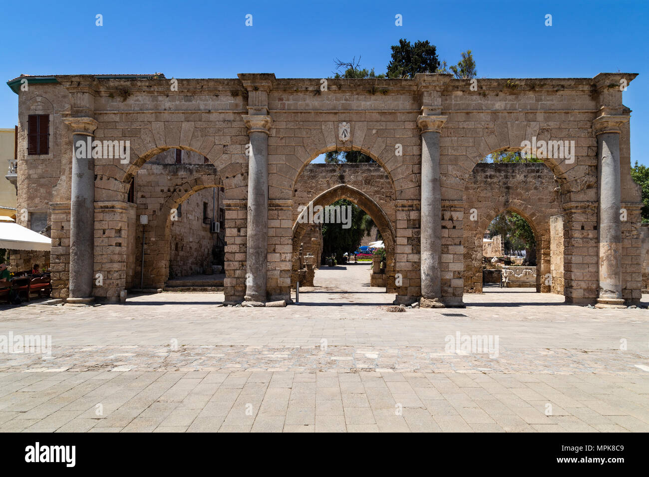 Historic gateway in Namik Kemalin Square in the city of Famagusta in the Turkish Republic of Northern Cyprus (TRNC). - Stock Image