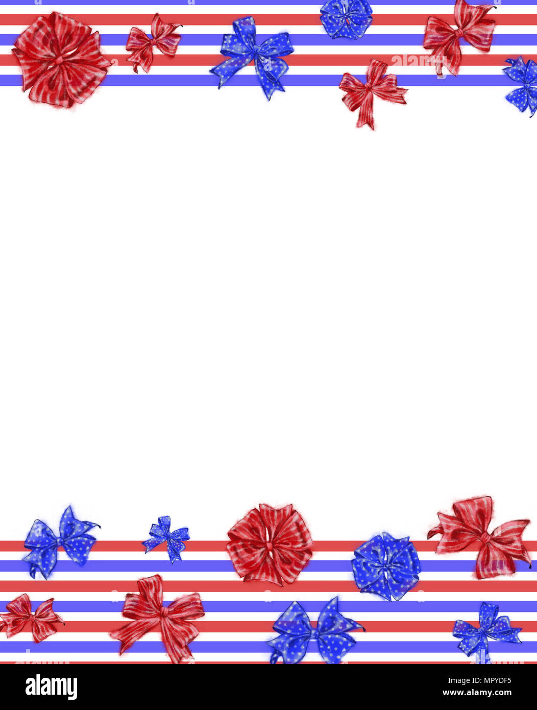 independence day template with horizontal tricolor ribbons and