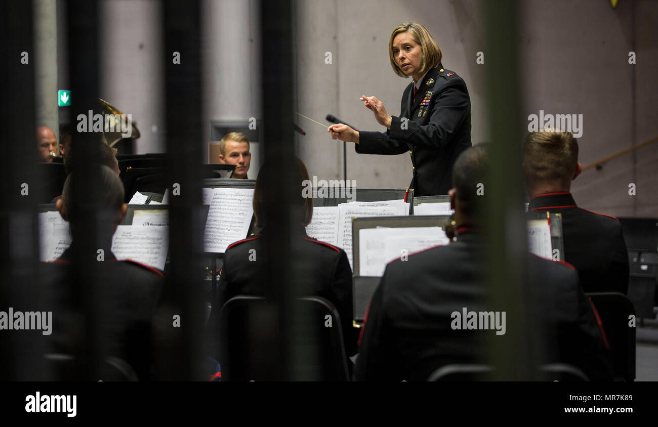 Chief Warrant Officer Three Stephanie Wire, officer in charge, 1st ...