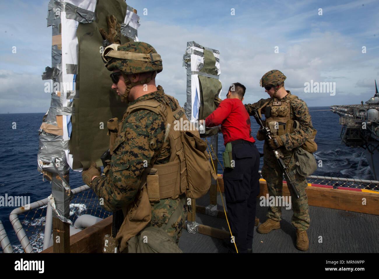 Marines With Kilo Company Battalion Landing Team 3rd Battalion