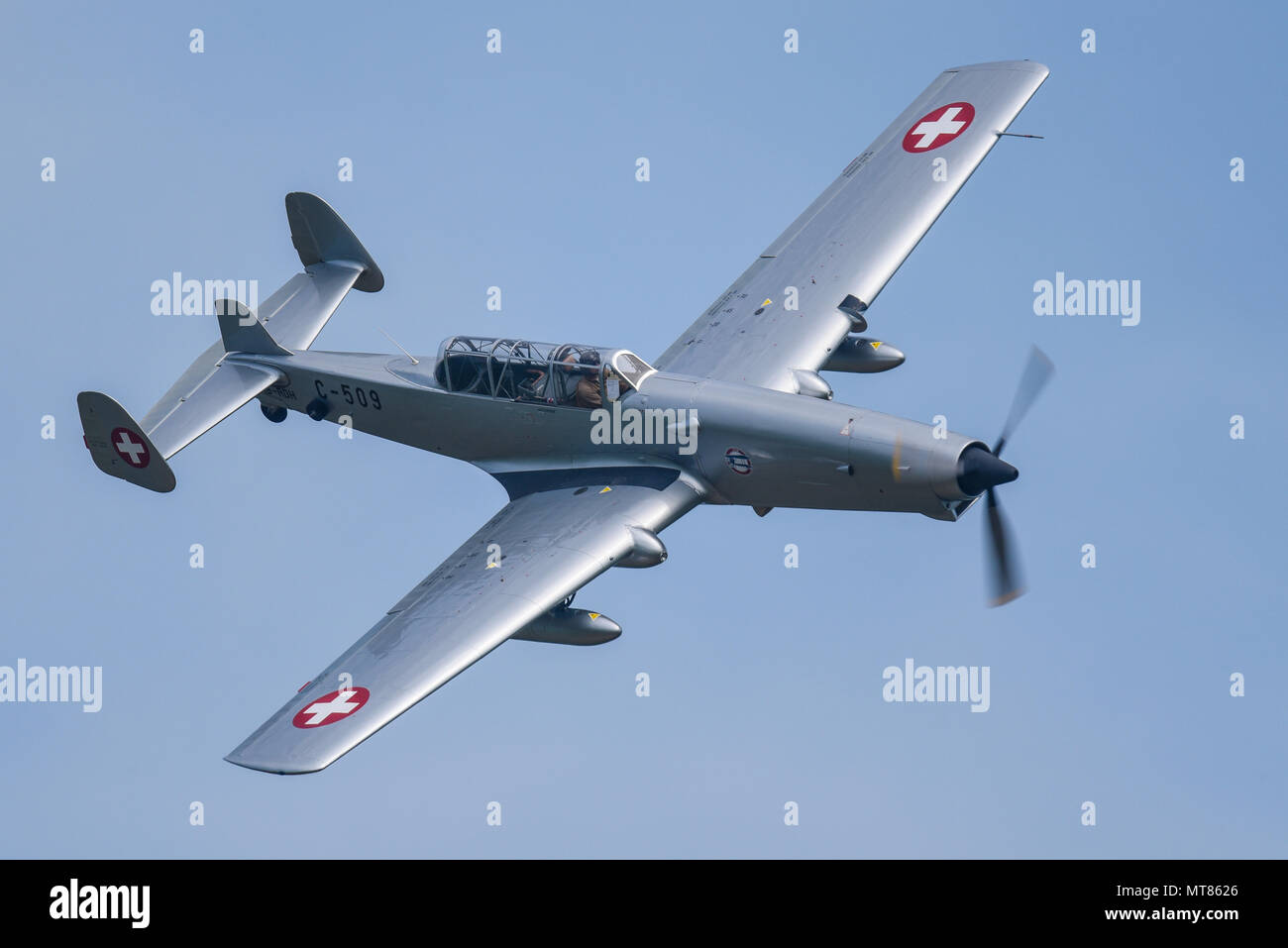 farner-werke-fw-c-3605-nicknamed-schlepp-tug-or-alpine-anteater-flying-at-an-airshow-in-blue-sky-ex-swiss-air-force-operated-by-46-aviation-MT8626.jpg
