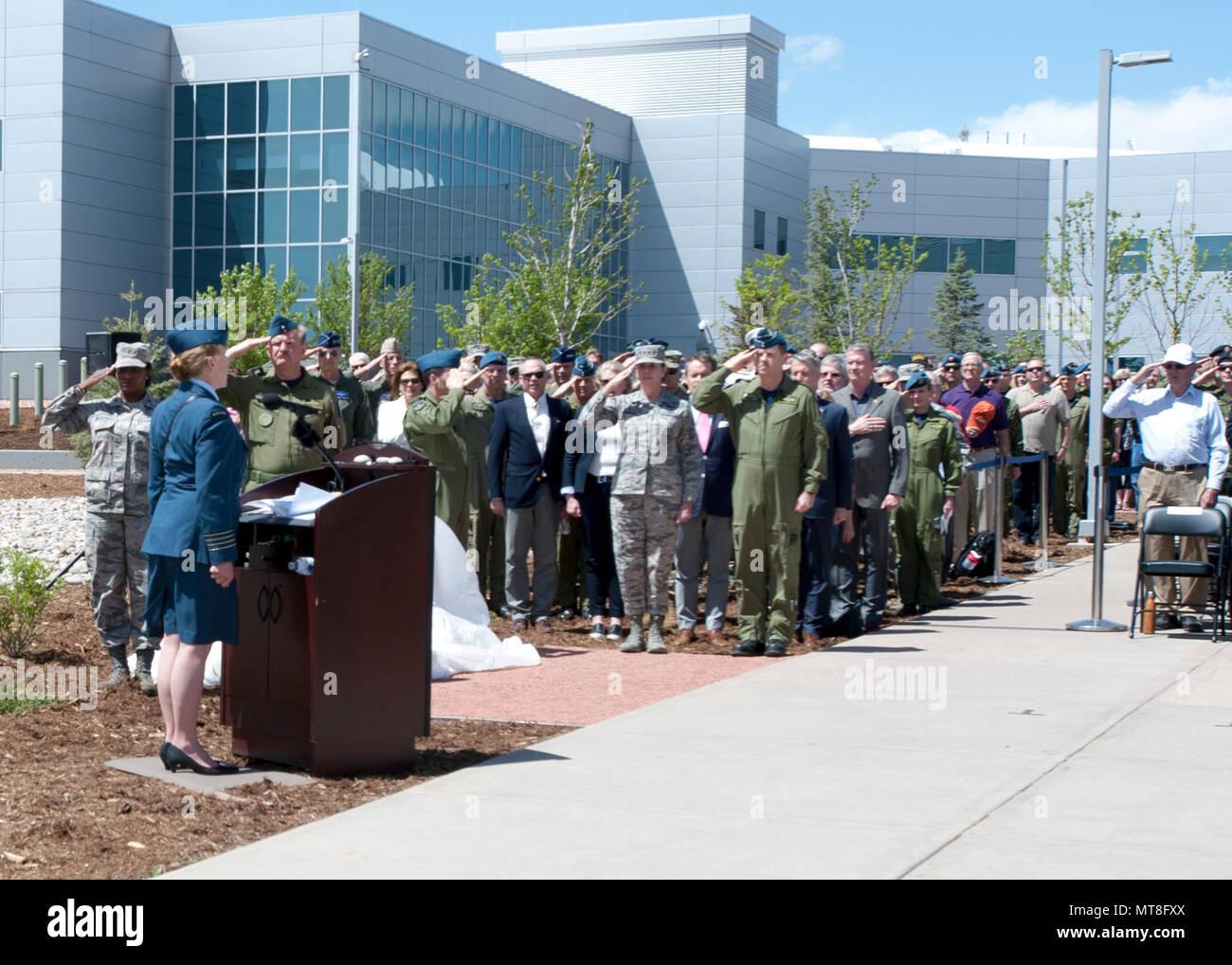 Royal Canadian Air Force Honorary Colonel Loreena Mckennitt Sings