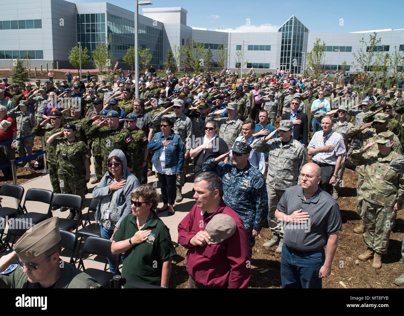 Members Of The North American Aerospace Defense Command And Us