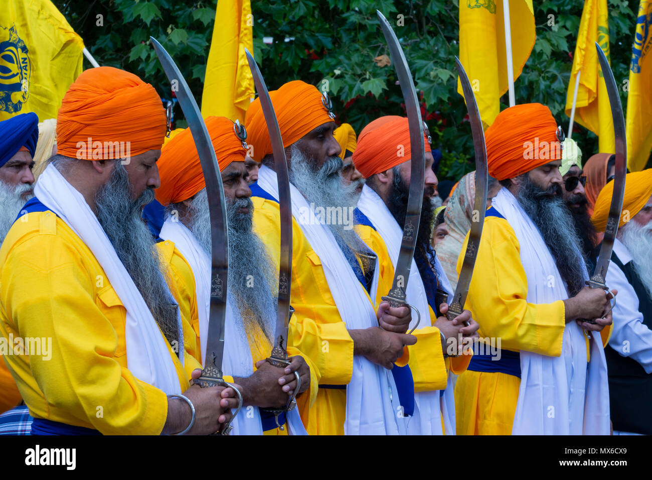 london-uk-3rd-june-2018-annual-sikh-ghallughara-remembrance-march-and-freedom-rally-commemorating-the-june-1984-anniversary-of-the-indian-army-attack-on-darbar-sahib-this-marked-the-beginning-of-the-third-ghallughara-third-holocaust-of-sikh-history-this-years-theme-is-truth-justice-and-freedom-the-march-proceeded-from-hyde-park-through-central-london-to-a-rally-in-trafalgar-square-the-march-and-rally-was-organised-by-the-federation-of-sikh-organisations-credit-stephen-bellallamy-live-news-MX6CX9.jpg