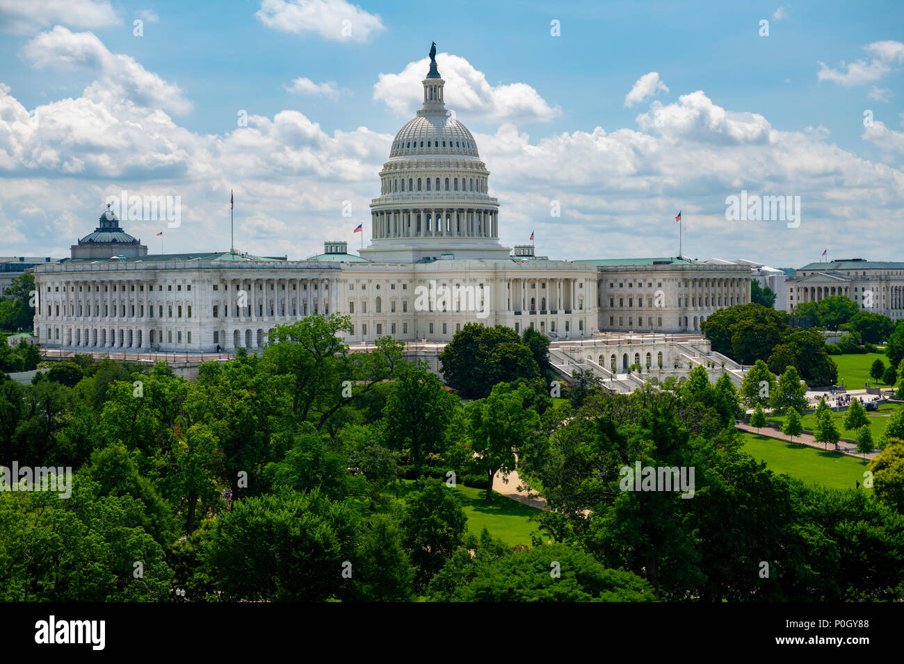 usa-wasington-dc-dc-the-u-s-capitol-building-on-the-hill-on-a-sunny-summer-day-P0GY88.jpg