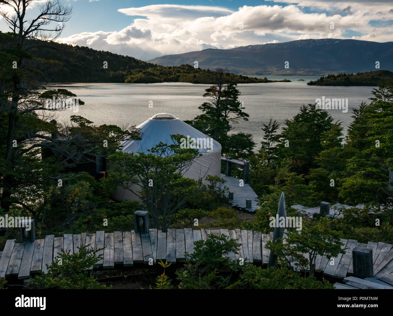 lakeside-view-of-patagonia-yurt-camp-lag