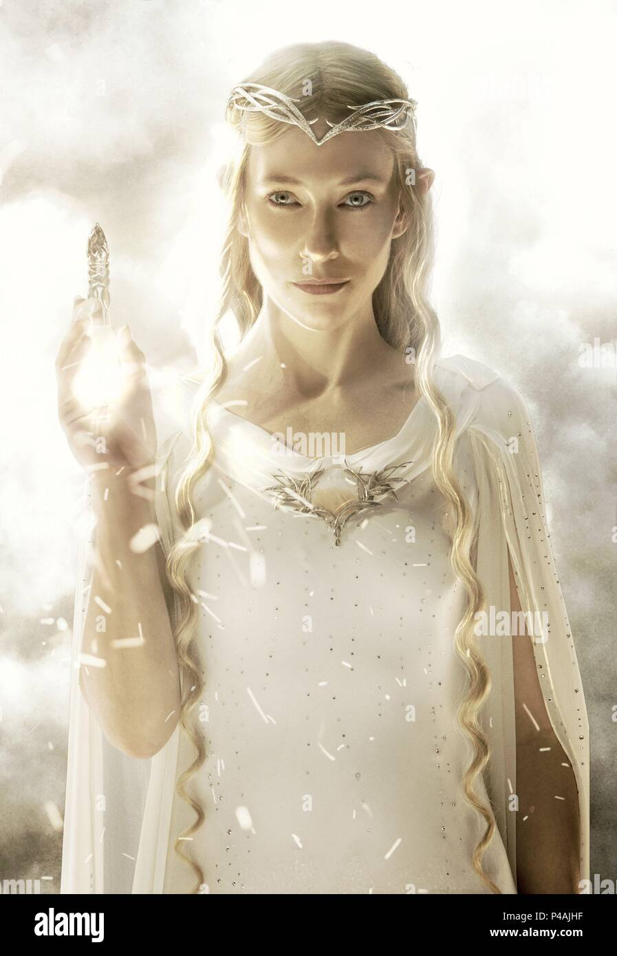 Original Film Title: HOBBIT, THE: AN UNEXPECTED JOURNEY.  English Title: HOBBIT, THE: AN UNEXPECTED JOURNEY.  Film Director: PETER JACKSON.  Year: 2012.  Stars: CATE BLANCHETT. Credit: METRO GOLDWYN MAYER / Album Stock Photo