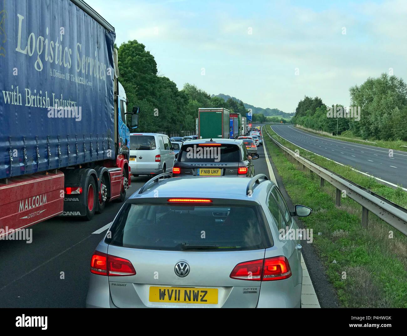 GoTonySmith,@HotpixUK,HotpixUK,cars,trucks,vans,stop,stopped,stationary,England UK road network,M5,Traffic Jam,with an empty,Motorway,road,England,UK,M6,M1,M25,Traffic,congestion,Jam,empty,lane,lanes,opposite,carriageway,roads,network,Motorway Accident
