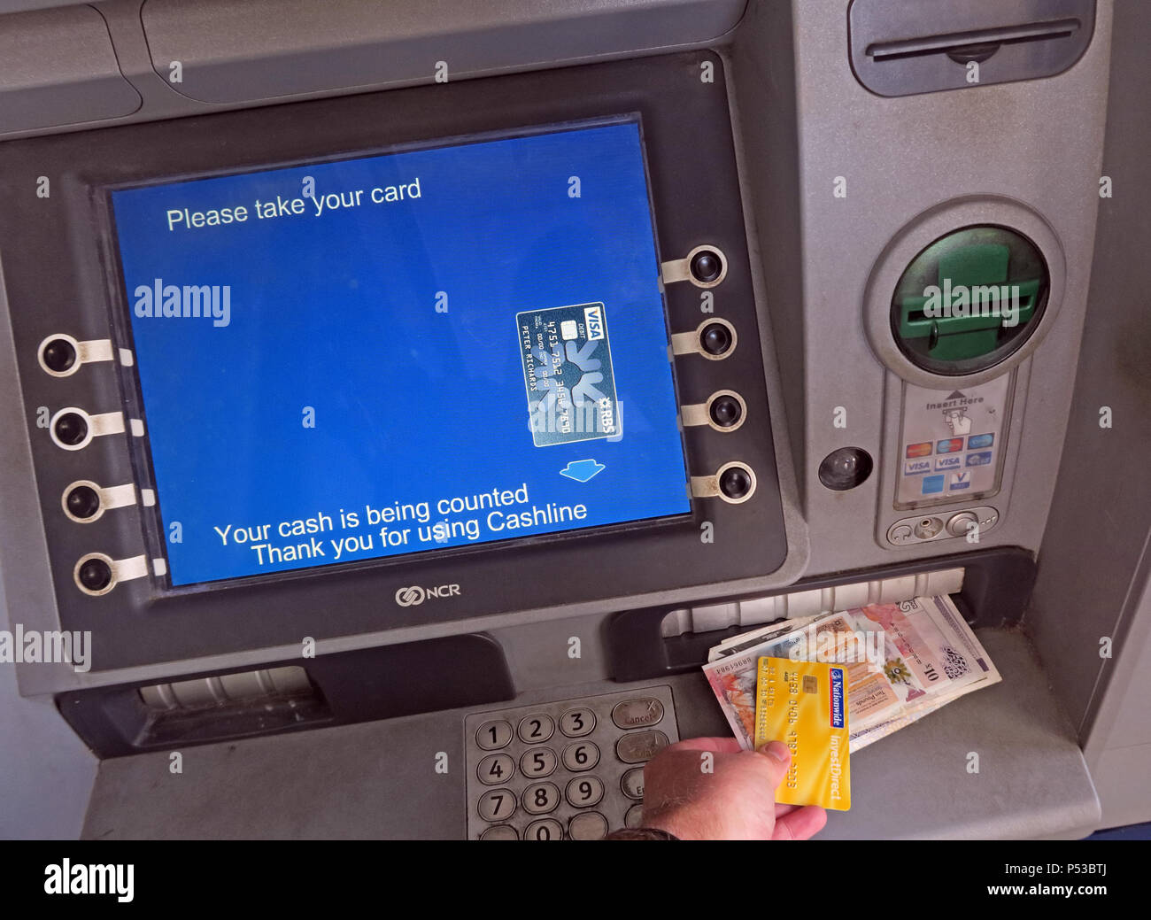 GoTonySmith,@HotpixUK,Cashline ATM Automatic Teller Machine,Glasgow,Scotland,UK,Cashline,ATM,Automatic Teller Machine,dispensing,Scottish,sterling,Scottish Sterling,banknotes,cash machine,free to use,dispensing cash