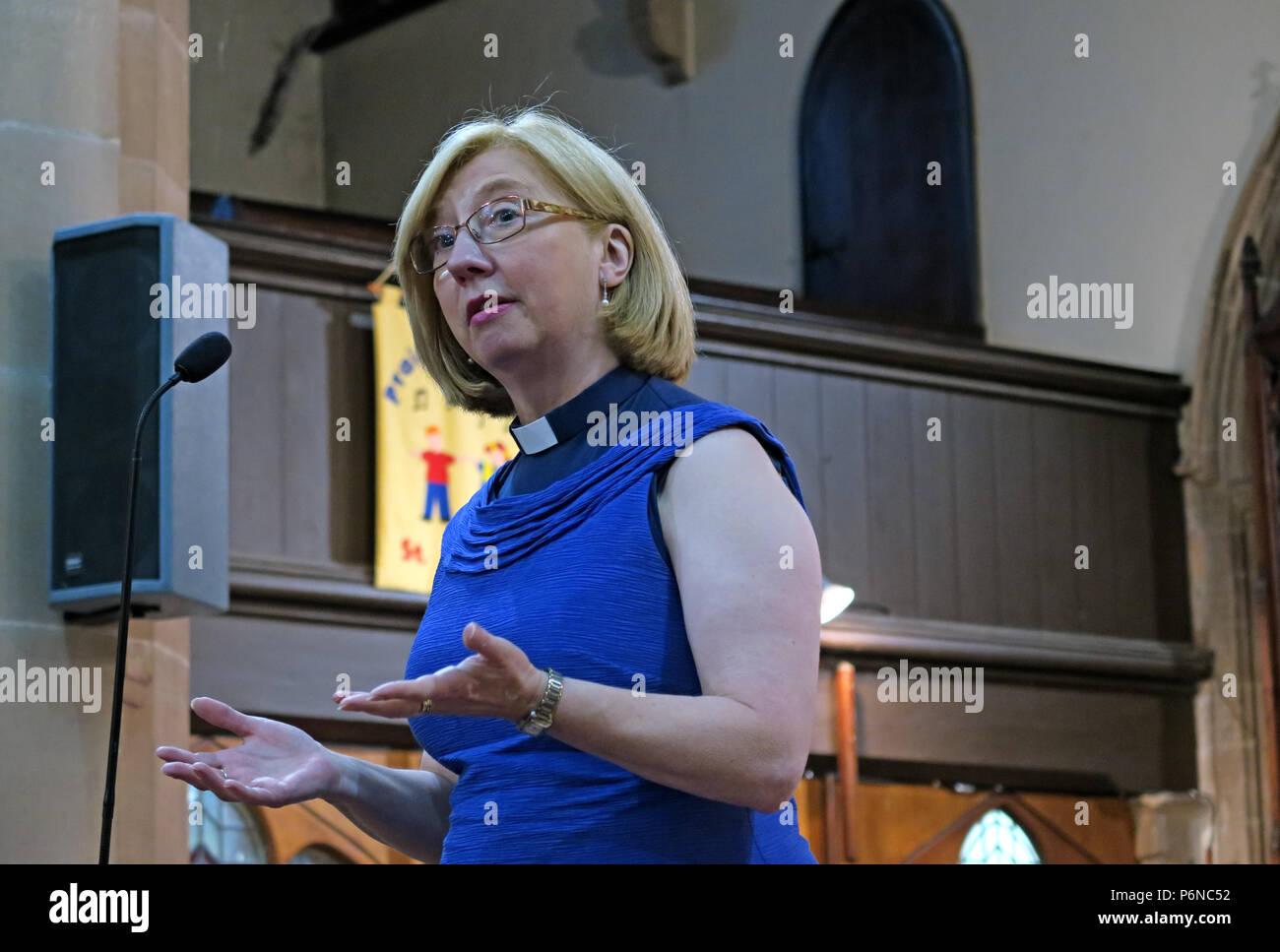 @Hotpixuk,GoTonySmith,female,woman,vicar,Rev,Bev,Beverley,Jameson,village,Warrington,Cheshire,WA13,Church Road,WA13 0QS,Christian,Church Of England,speaking,at a,microphone,in church,Vicar,Vicar of Dibley,St Marys,St Marys Church,speaks,clergy,equal opportunities