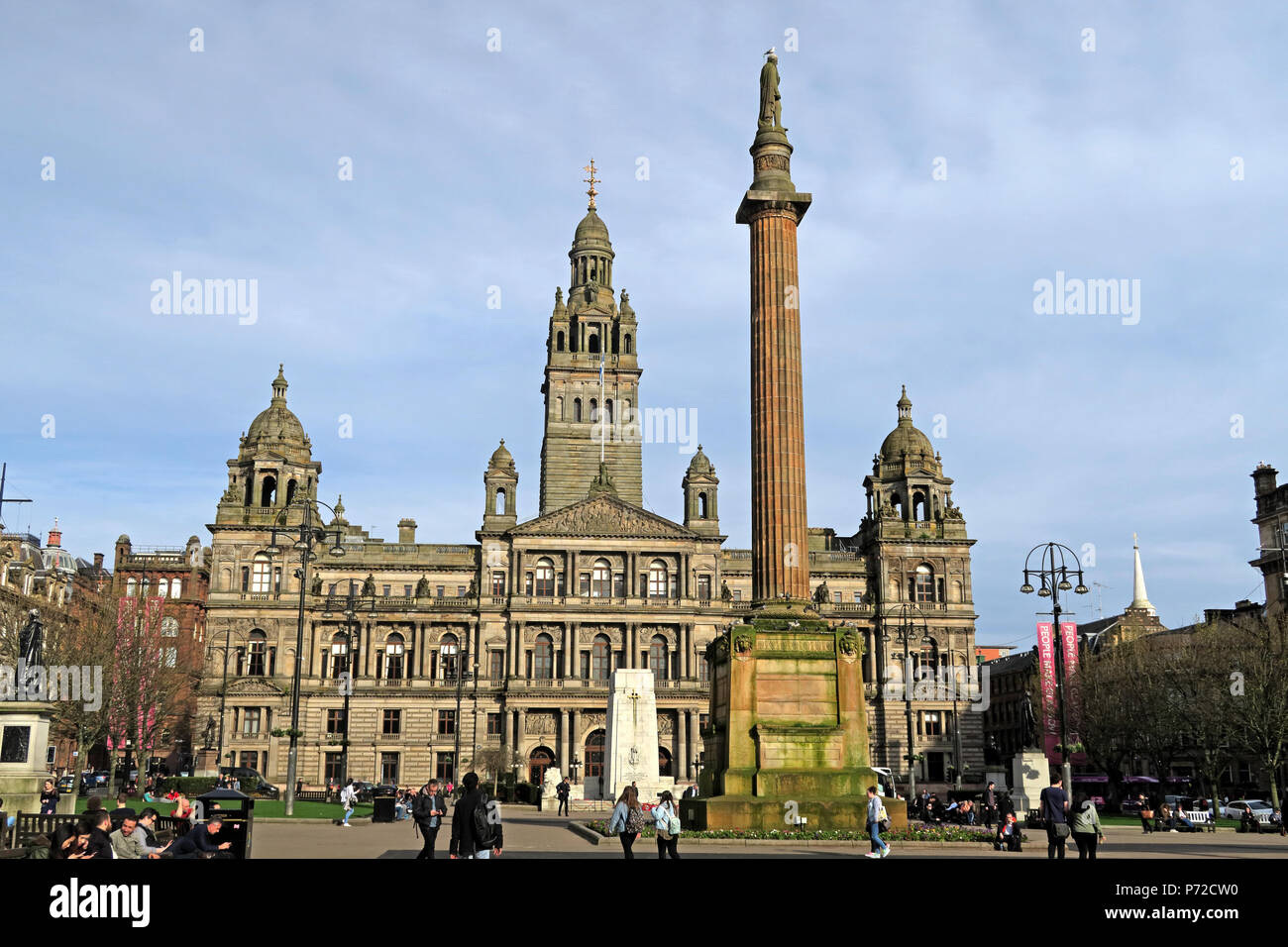 HotpixUK,GoTonySmith,UK,local government body local government,Glasgow,G2 1DU,Glasgow Corporation,Corporation,local authority,Glasgow District Council,Strathclyde,Glasgow City Council,George Square,George Sq,gothic,building,architecture,listed,Beaux arts style,Beaux arts,style,The Chambers
