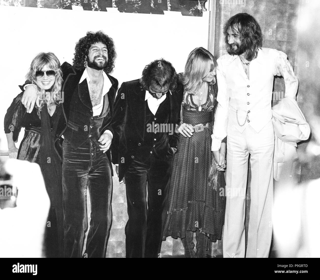 fleetwood mac, 70s Stock Photo