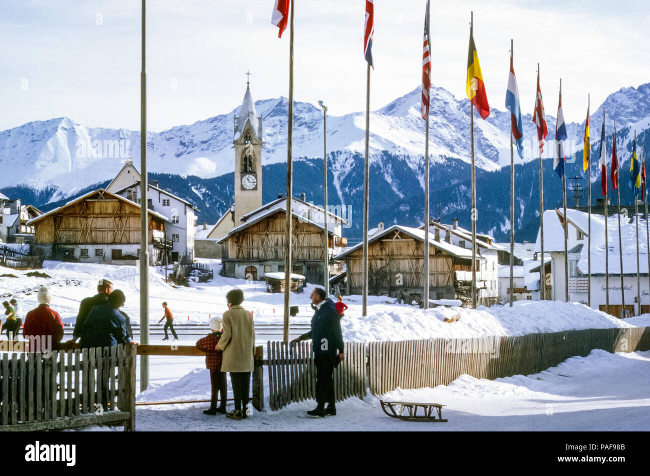 1960s-austrian-ski-resort-with-old-churc