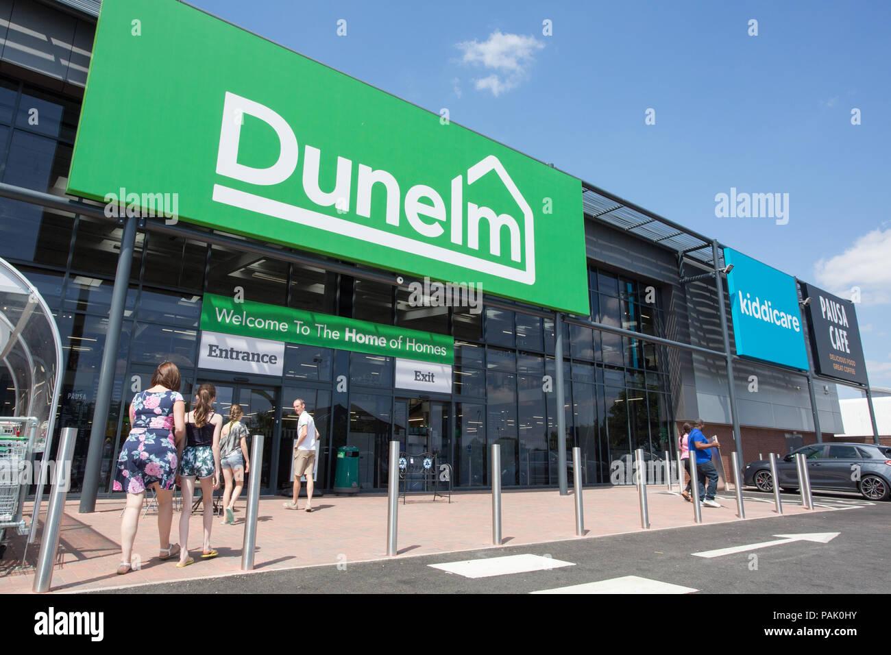 Dunelm store, Birchley Industrial Estate, Birchfield Lane, Oldbury B69 1DT Stock Photo