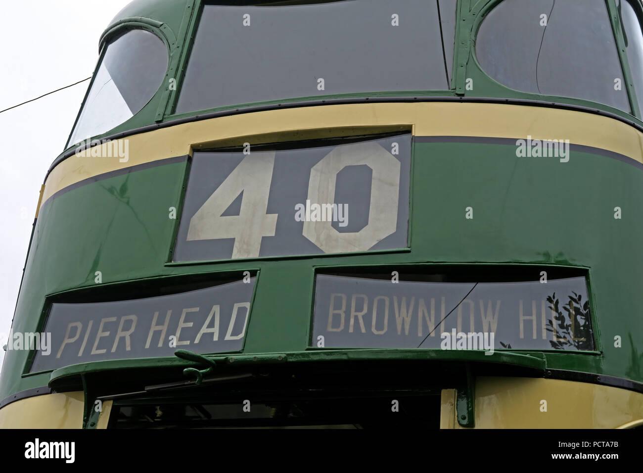 GoTonySmith,@HotpixUK,Transport,tram,trams,Birkenhead,green,cream,creme,north west England,UK,England,public,public trams,public tram,history,historic,electric,Pierhead,Brownlow hill,40