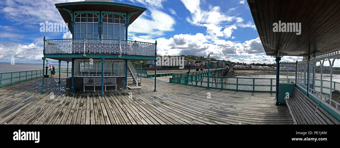 GoTonySmith @HotpixUK,GoTonySmith,@HotpixUK,South West England,UK,listed buildings,English,Clevedon,coast,coastal resort,resort,wooden pier,boardwalk,pano,panorama,restored,structure,tourist attraction,tourism,travel,summer,clouds,wet,iconic,British seaside,Grade I listed,Grade I,Grade I pier,Grade I building,Severn Estuary,bench,benches,seating areas,seaside pier,the,most,beautiful,pier,in,England,ferry port,paddle,steamer,embarkation,point,pavilion,Clevedon pavilion