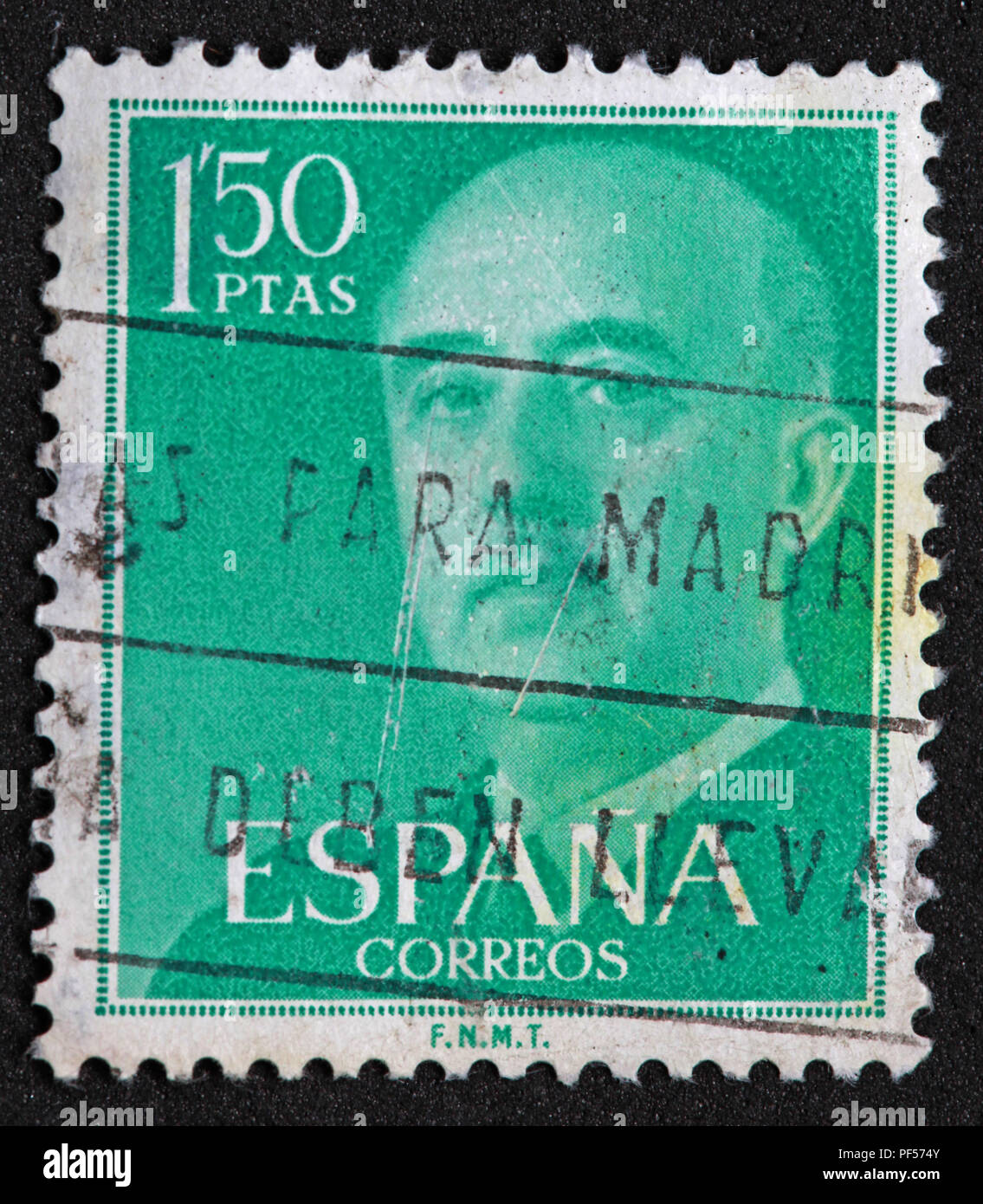 Gotonysmith,@Hotpixuk,Hotpixuk,rare old stamps,used stamps,Postal,letters,letter,communication,print,analogue,historic stamps,Used 1.5ptas Peseta green stamp,Used,ptas,1.5,green,stamp,Spanish,Spanish stamps,Spanish stamp,Spanish green stamp