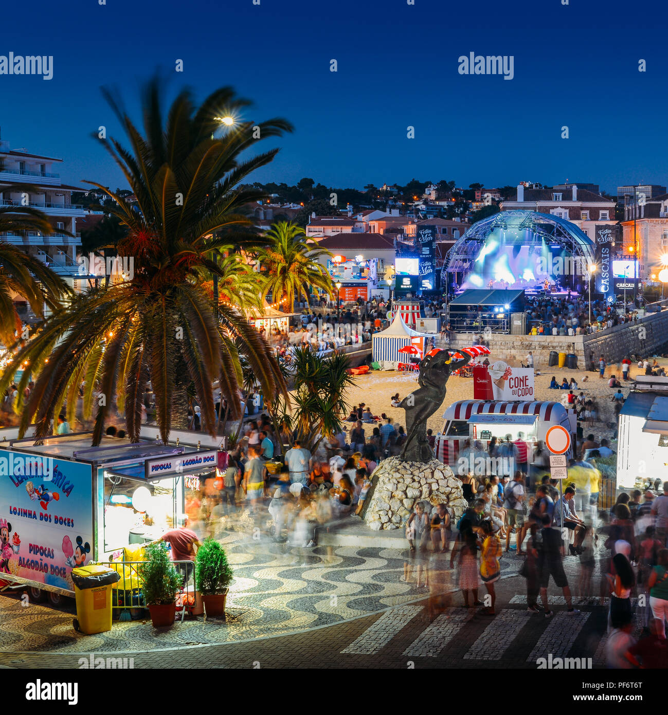 cascais-portugal-august-19-2018-between-august-17-and-26-2018-praia-do-ribeiro-in-cascais-is-hosting-the-festas-do-mar-music-festival-festival-featuring-famous-portuguese-musicians-as-well-as-brazilian-and-african-the-festival-is-expected-to-attract-500000-spectators-for-a-lively-atmosphere-complete-with-food-trucks-and-activities-for-all-ages-on-the-last-day-organisers-have-planned-a-fireworks-display-overlooking-the-cascais-bay-credit-alexandre-rotenbergalamy-live-news-PF6T6T.jpg