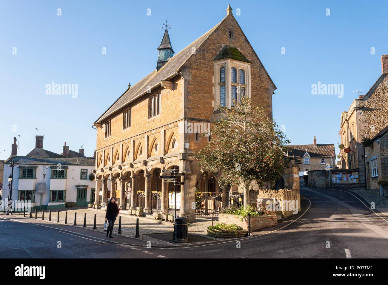 The Market House, Castle Cary, Somerset, England, GB, UK Stock Photo