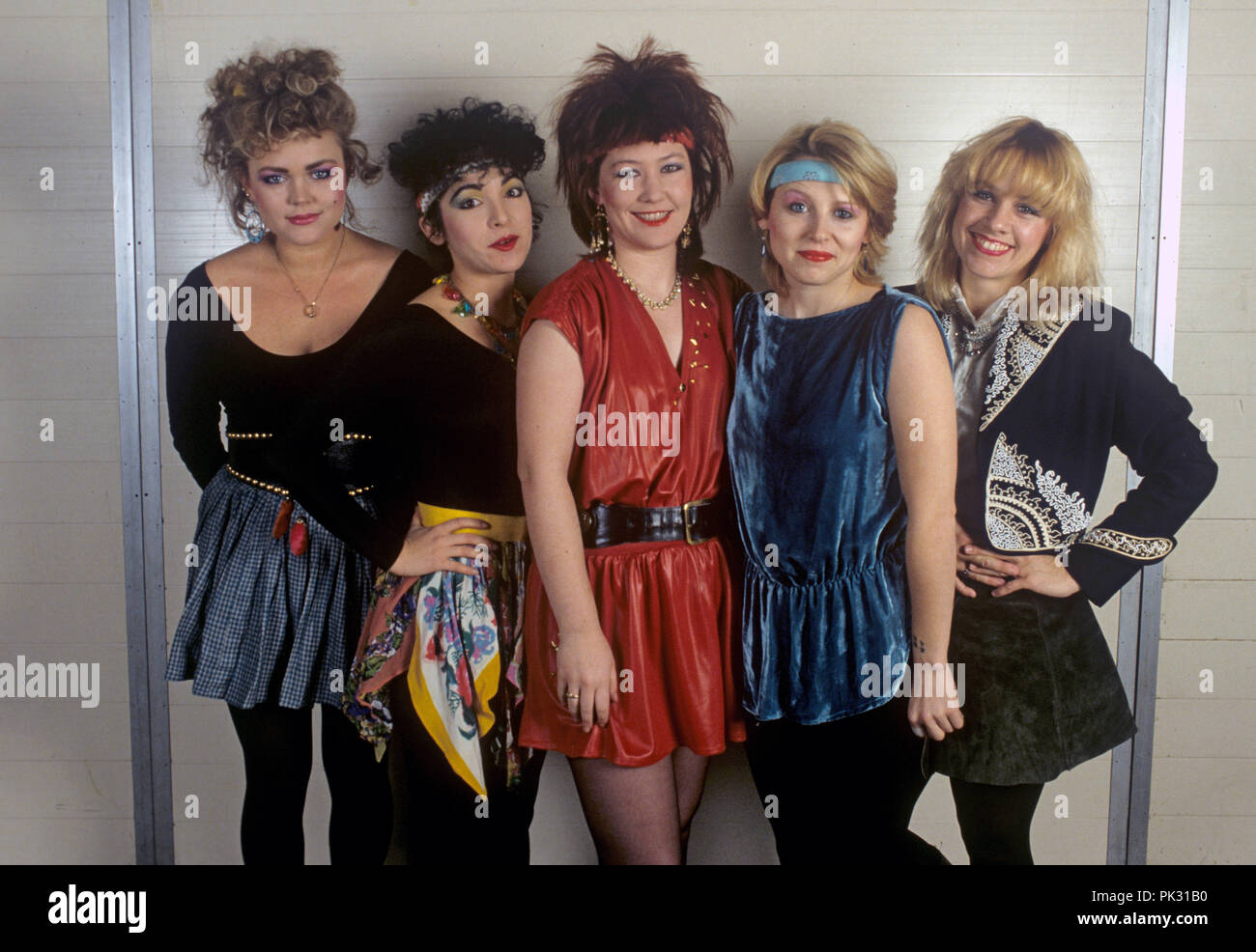 The Go-Go's in January 1982. | usage worldwide Stock Photo