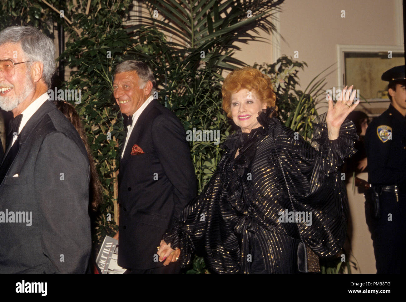 lucille-ball-and-husband-gary-morton-at-