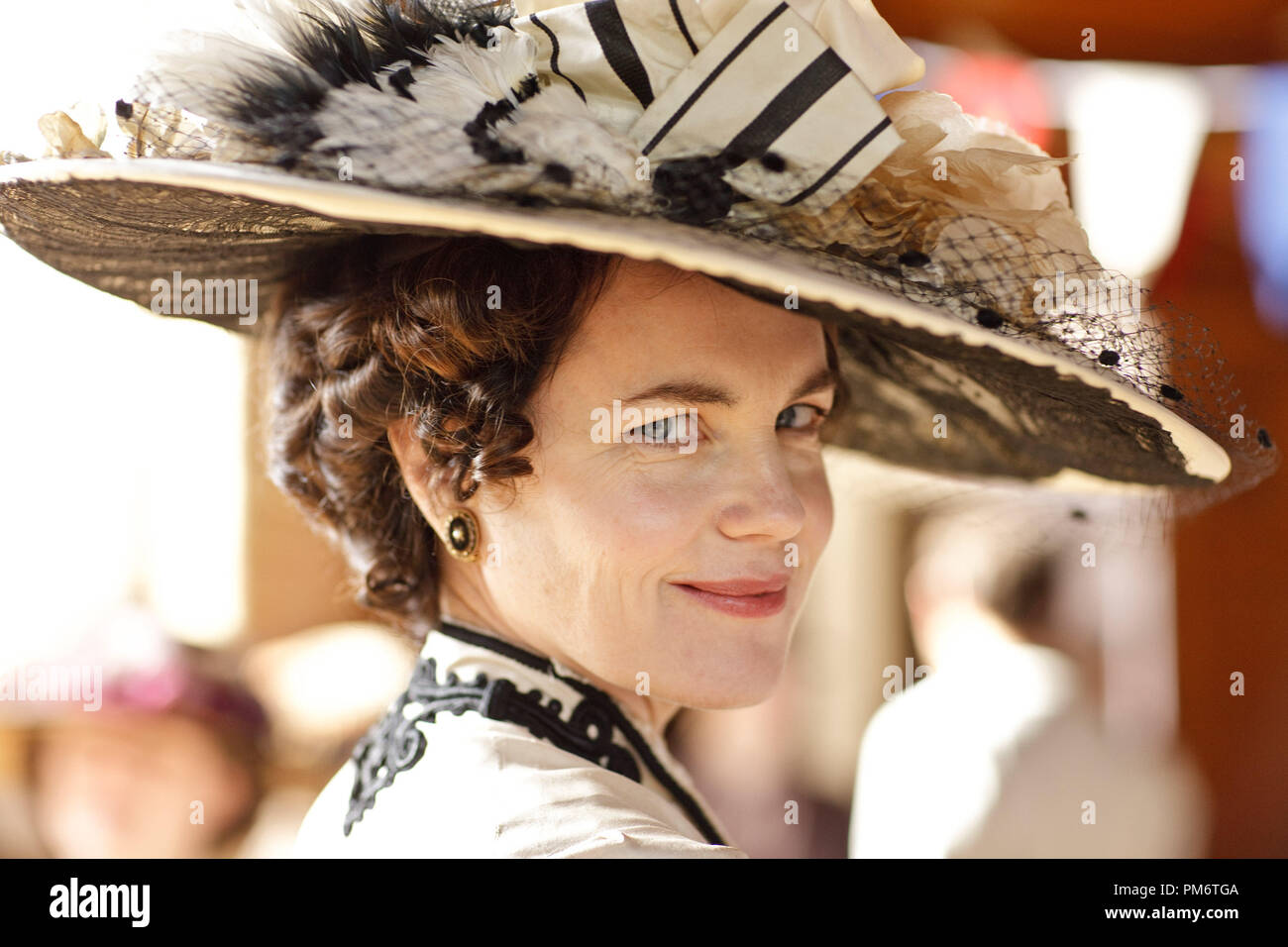 Elizabeth McGovern in Downton Abbey Stock Photo