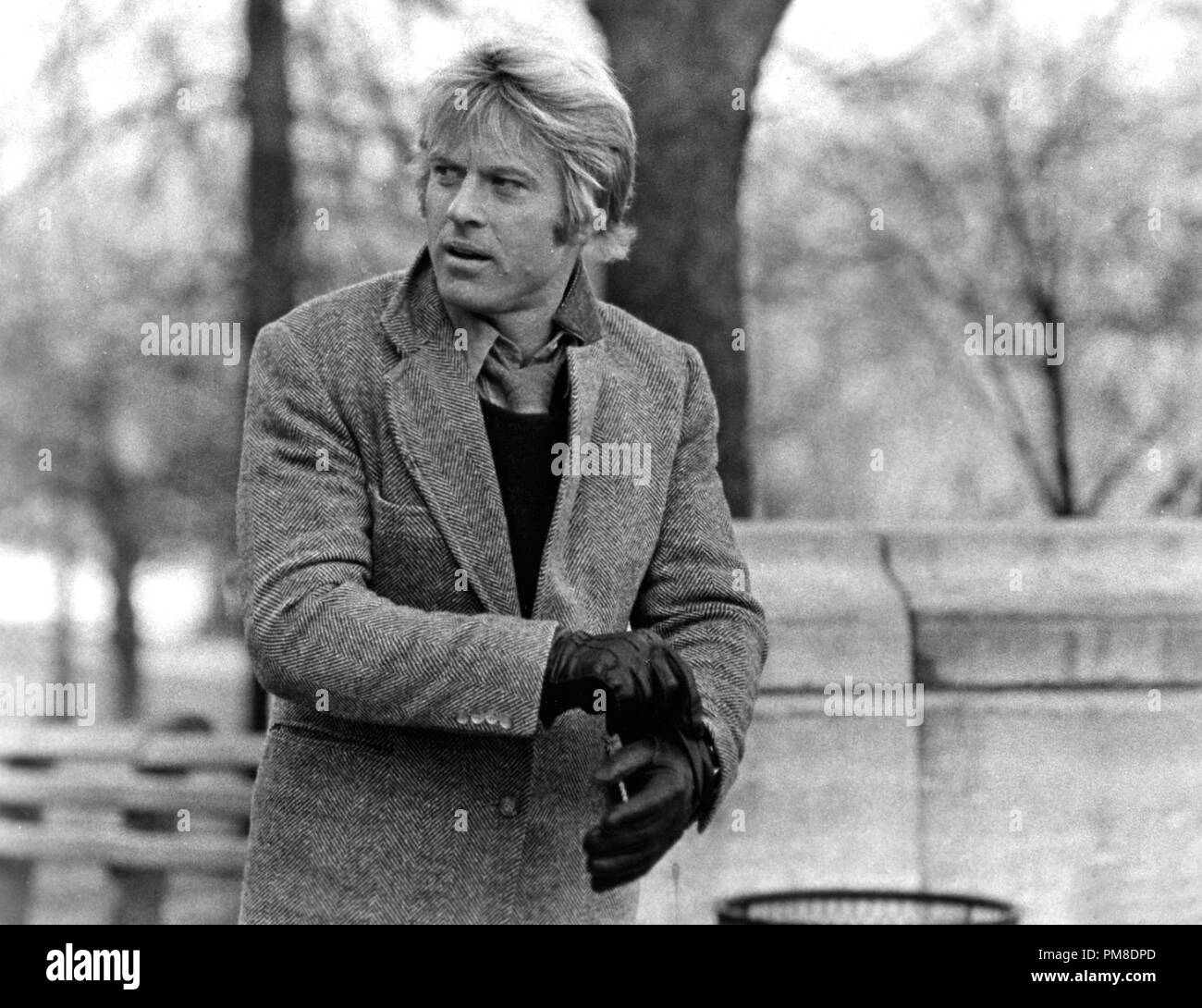 "Studio Publicity Still: ""Three Days of the Condor""  Robert Redford  1975 Paramount  File Reference # 31202 1271THA Stock Photo"