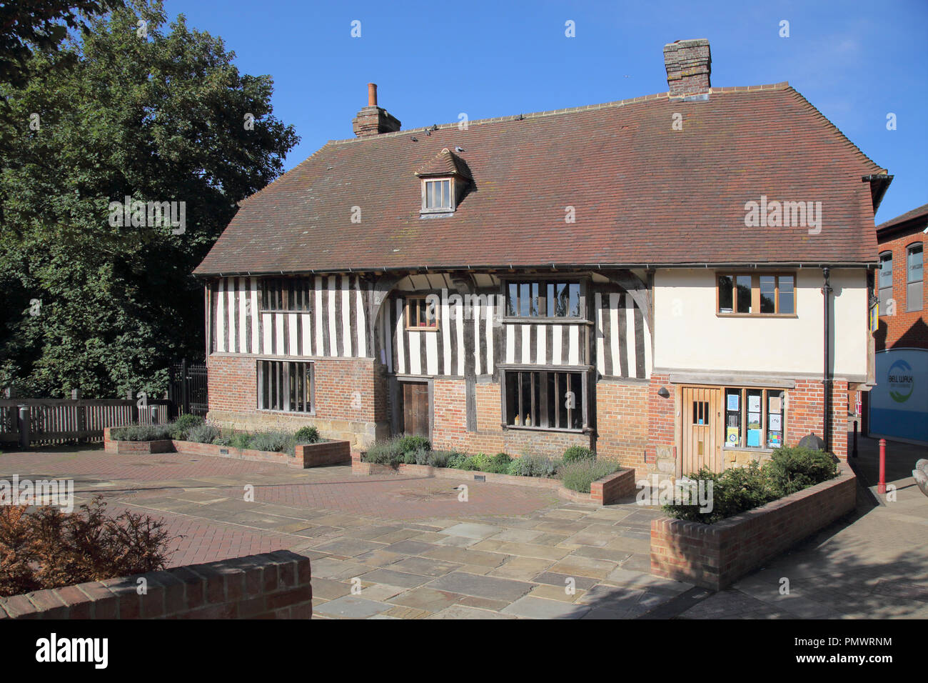 bridge cottage and museum in uckfield in east sussex Stock Photo