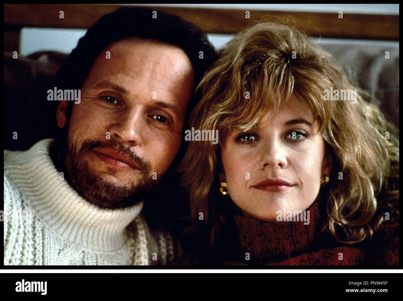 Prod DB © Castle Rock-Columbia / DR QUAND HARRY RENCONTRE SALLY (WHEN HARRY MET SALLY...) de Rob Reiner 1989 USA avec Billy Cristal et Meg Ryan couple Stock Photo