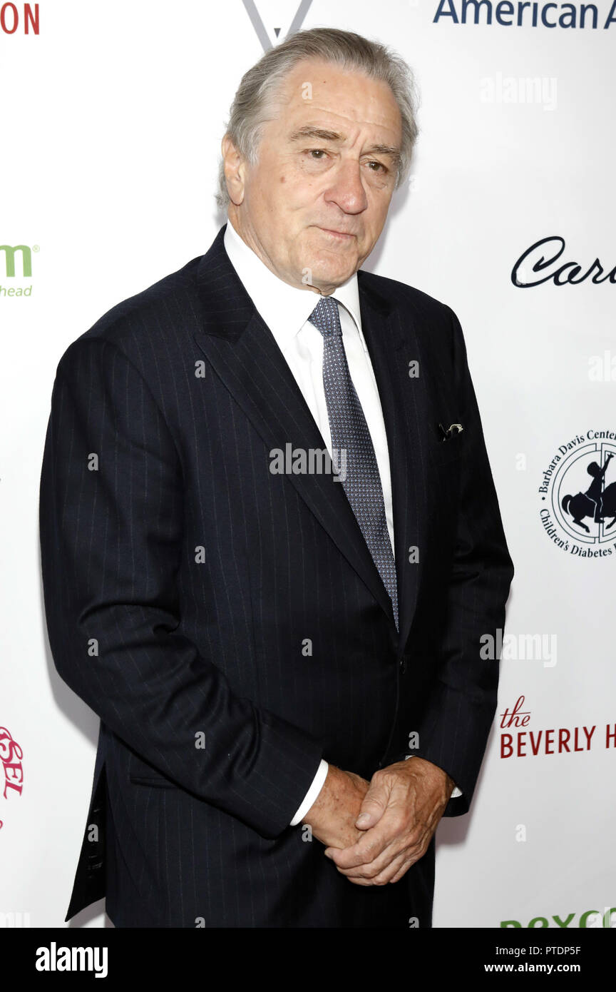 Robert De Niro attending the Carousel of Hope Ball 2018 at Beverly Hilton Hotel on October 6, 2018 in Beverly Hills, California. | usage worldwideStock Photo