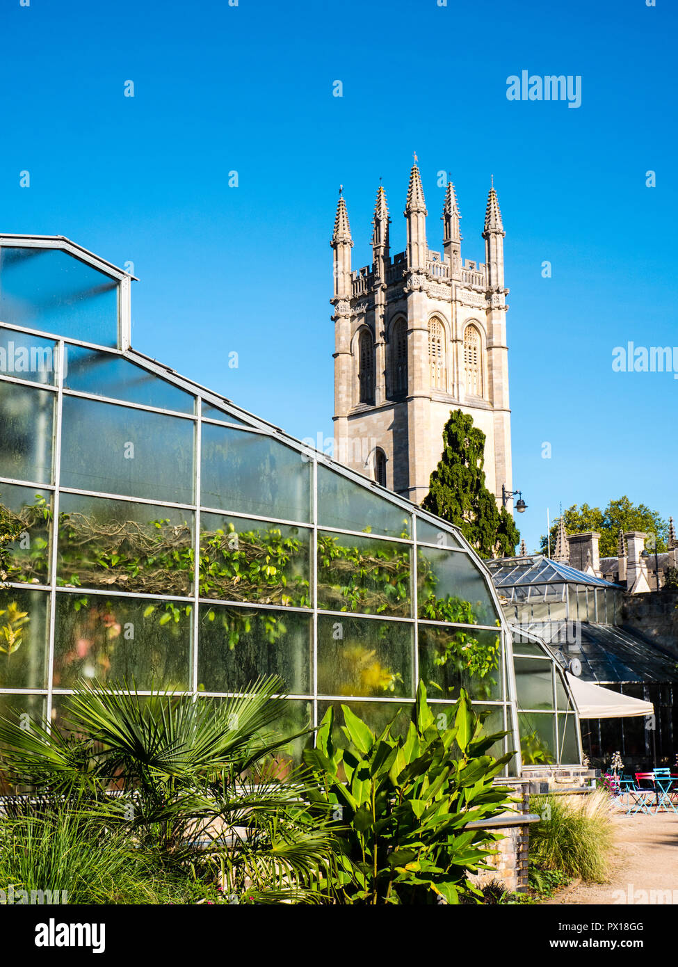 greenhouse-and-magdalen-tower-university