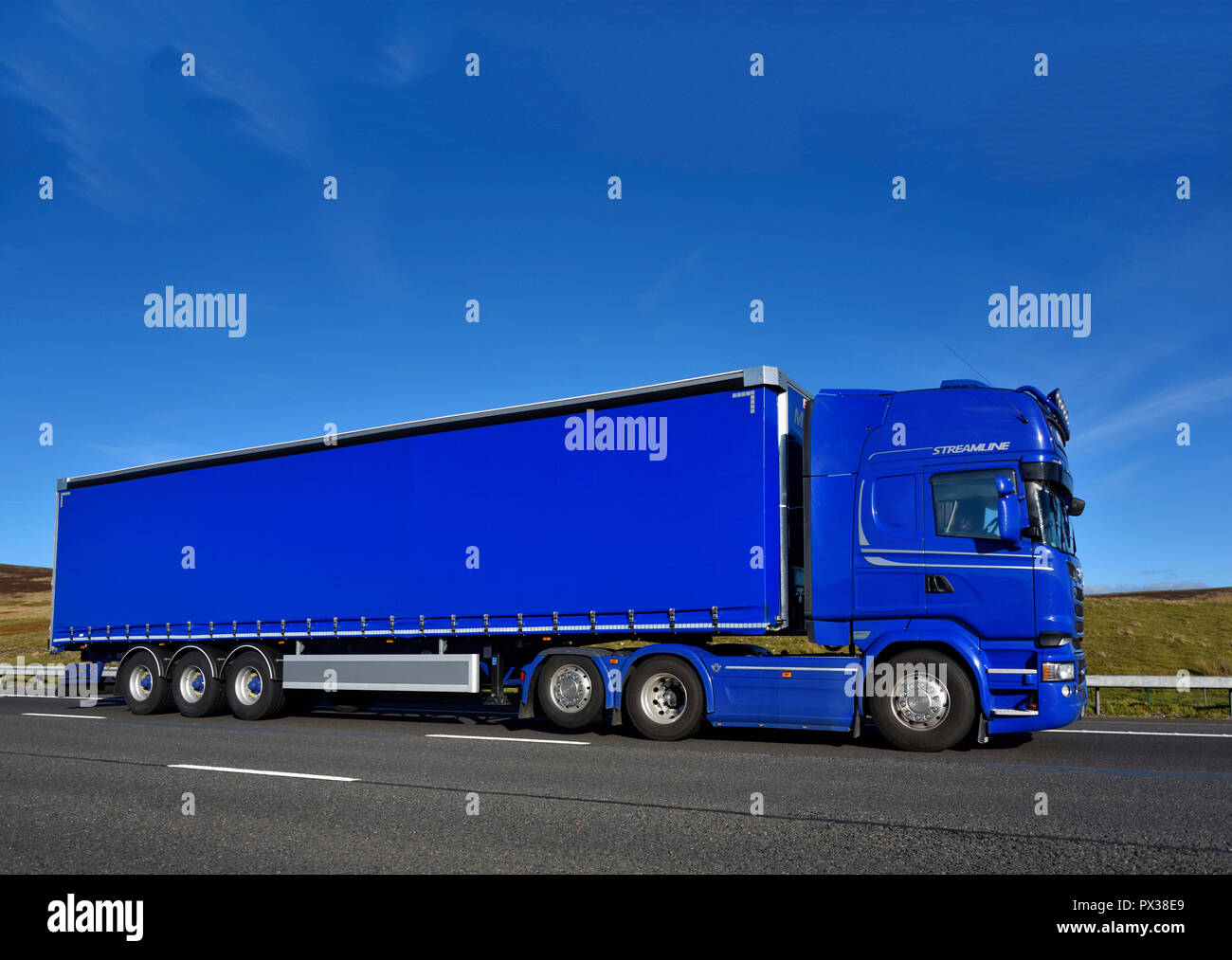 streamline-shipping-group-hgv-m6-motorway-southbound-carriageway-shap-cumbria-england-united-kingdom-europe-PX38E9.jpg