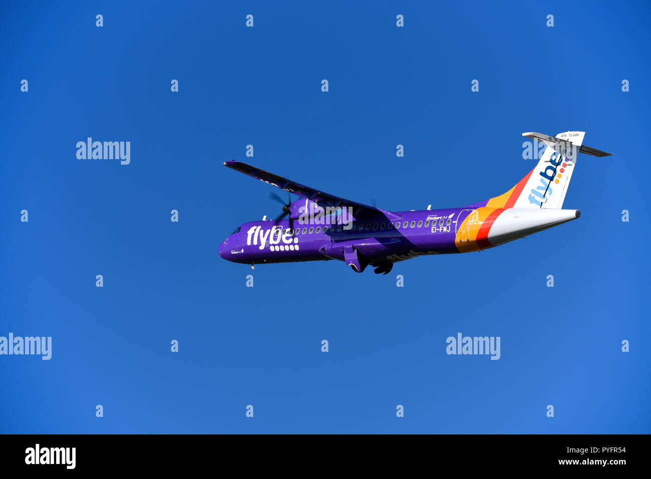 flybe-atr-72-600-ei-fmj-airliner-plane-taking-off-in-blue-sky-from-london-southend-airport-stobart-air-operation-space-for-copy-PYFR54.jpg