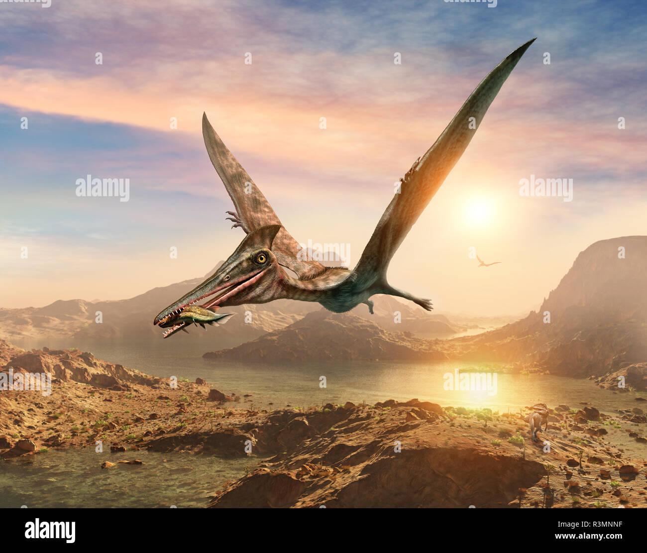 pterosaur-scene-3d-illustration-R3MNNF.j