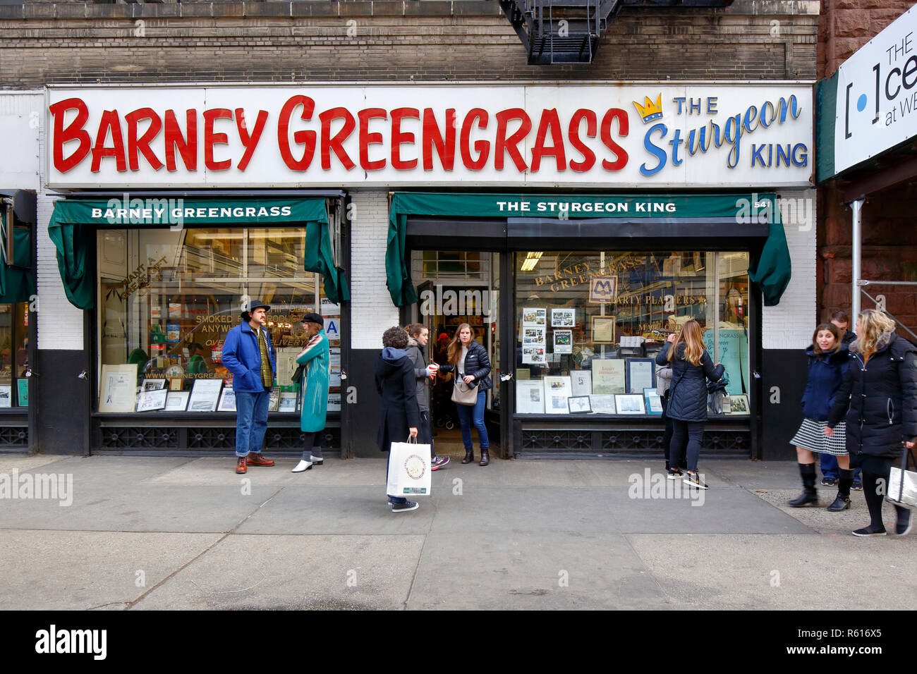 Barney Greengrass, 541 Amsterdam Ave, New York, NY Stock Photo