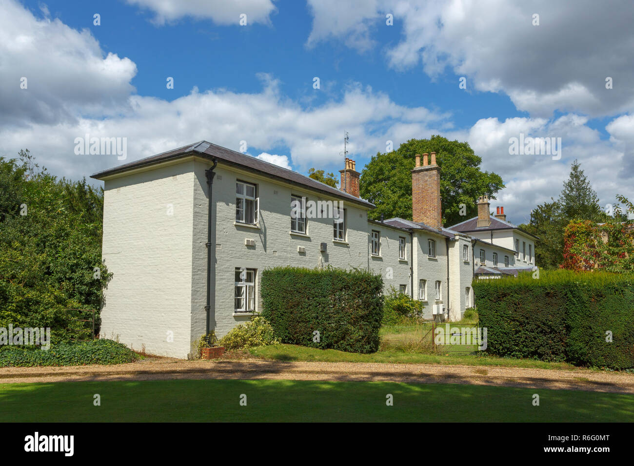 Frogmore Cottage in the grounds of Frogmore House, Frogmore Estate, Windsor, UK, home of Prince Harry and Meghan Markle, Duke and Duchess of Sussex Stock Photo