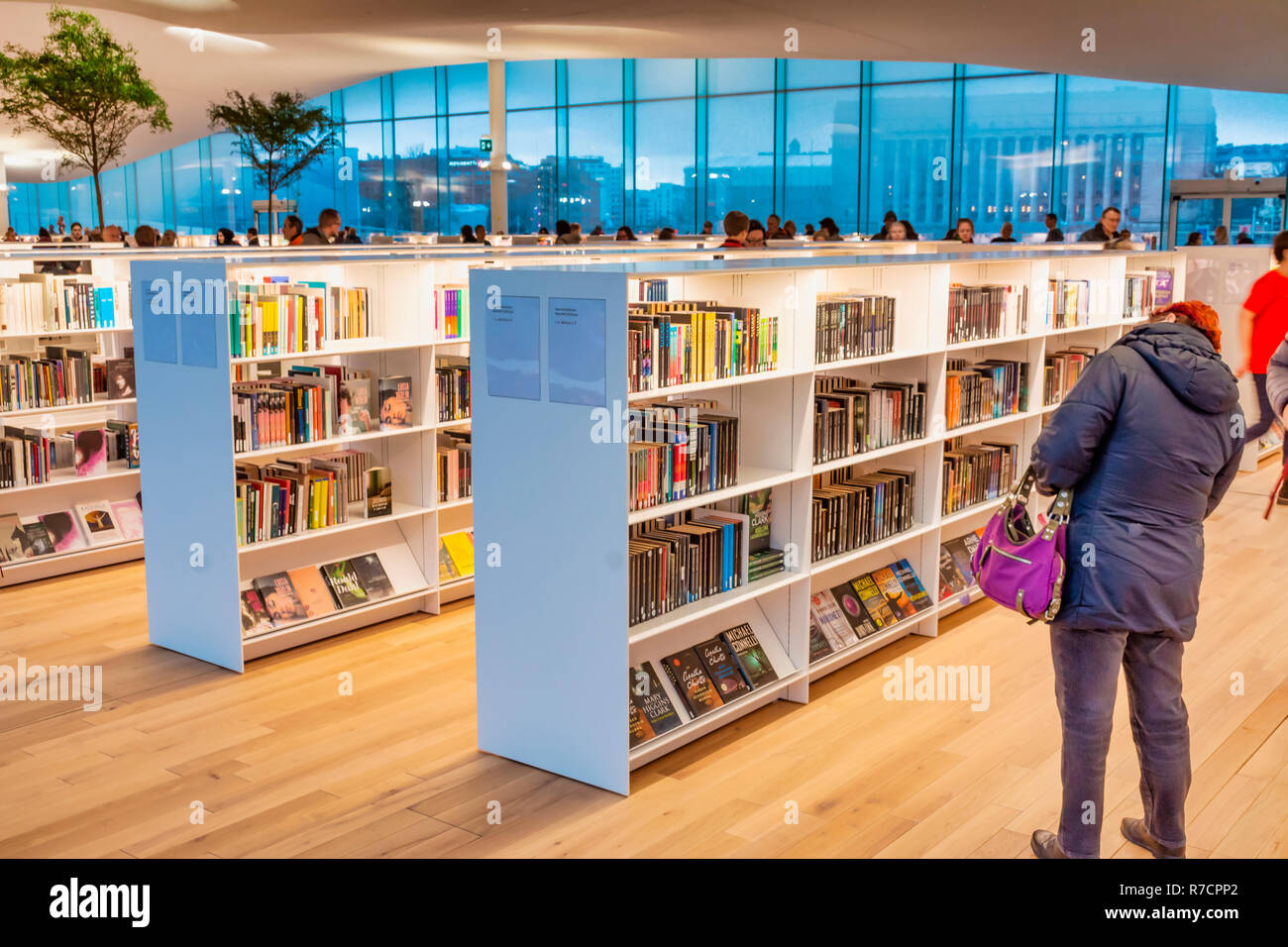 Oodi central library of Helsinki Finland Stock Photo